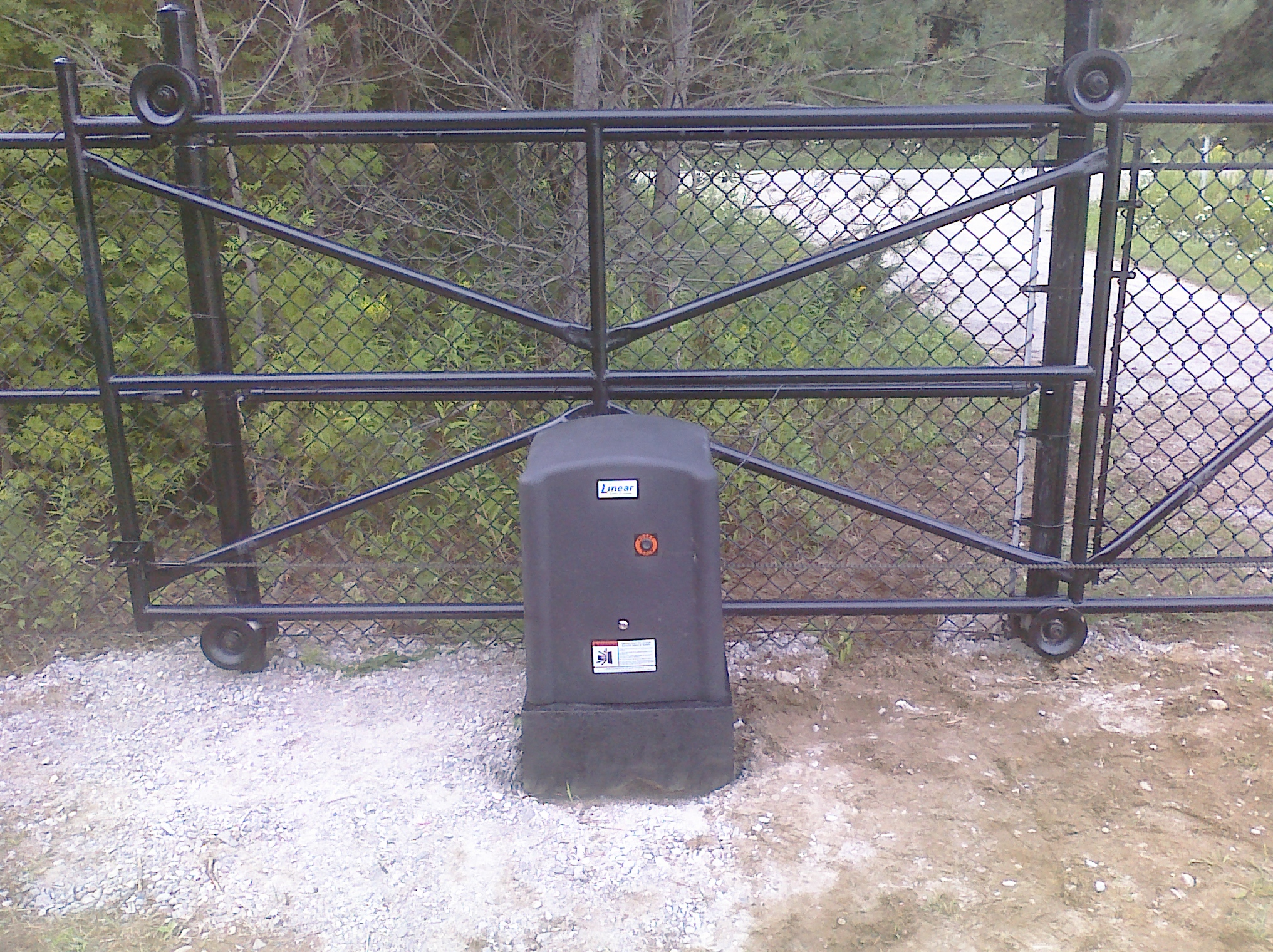 Sliding Gate & Operator, driveway security gates do it yourself