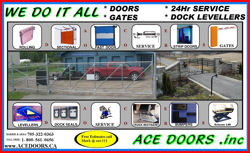 We Do It All sales servive install 24hr. Barrie, On, Canada